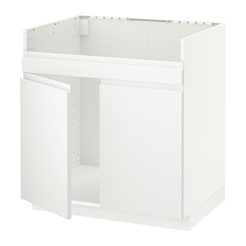 metod l ment pour vier domsj 2 bacs blanc voxtorp blanc mat ikea. Black Bedroom Furniture Sets. Home Design Ideas