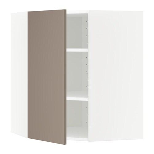 Metod lt mur ang tblts blanc ubbalt beige fonc 68x80 for Protection mur cuisine ikea