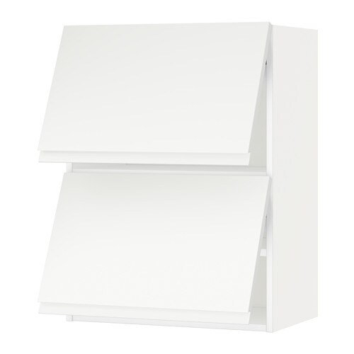 metod lt mur horiz 2ptes blanc voxtorp blanc mat 60x80 cm ikea. Black Bedroom Furniture Sets. Home Design Ideas