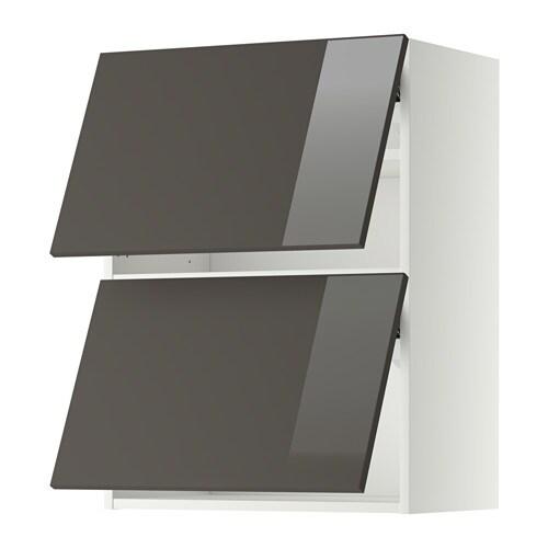 metod lt mur horiz 2ptes blanc ringhult brillant gris 60x80 cm ikea. Black Bedroom Furniture Sets. Home Design Ideas