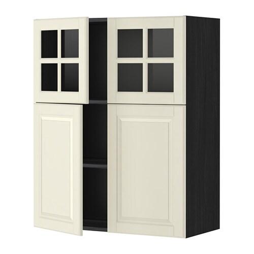 metod lt mur tblts 2pts 2pts vit effet bois noir bodbyn blanc cass ikea. Black Bedroom Furniture Sets. Home Design Ideas