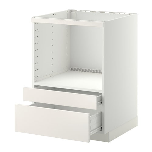 metod f rvara meuble pour micro combi tiroirs blanc veddinge blanc ikea. Black Bedroom Furniture Sets. Home Design Ideas