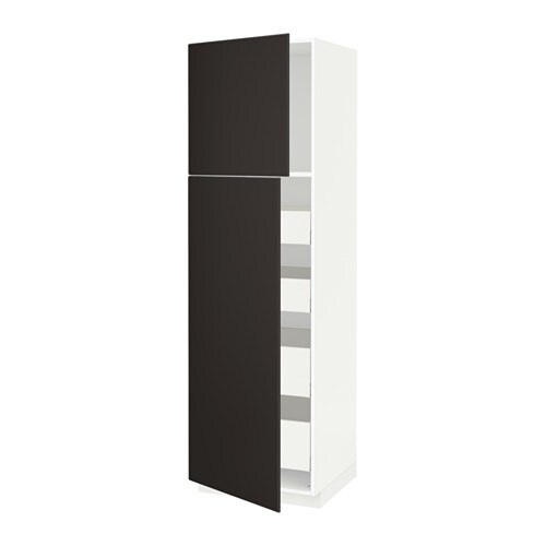 metod maximera armoire 2 portes 4 tiroirs blanc kungsbacka anthracite 60x60x200 cm ikea. Black Bedroom Furniture Sets. Home Design Ideas