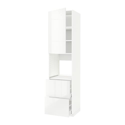 metod maximera armoire pour four porte 2 tiroirs blanc ringhult brillant blanc ikea. Black Bedroom Furniture Sets. Home Design Ideas