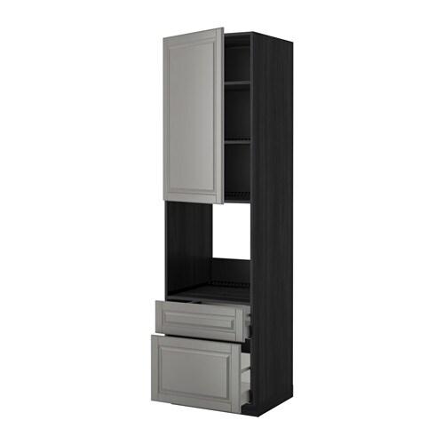 Metod maximera armoire pour four porte 2 tiroirs effet for Armoire une porte ikea