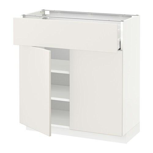 metod maximera l bas av tir 2 prtes blanc veddinge blanc 80x37 cm ikea. Black Bedroom Furniture Sets. Home Design Ideas