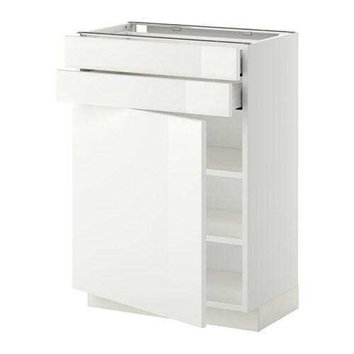 metod maximera l bas pte 2 tir blanc ringhult brillant blanc 60x37 cm ikea. Black Bedroom Furniture Sets. Home Design Ideas