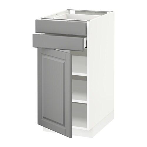 metod maximera l bas pte 2 tir blanc bodbyn gris 40x60 cm ikea. Black Bedroom Furniture Sets. Home Design Ideas
