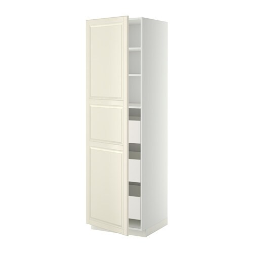 metod maximera l ment armoire avec tiroirs blanc bodbyn blanc cass 60x60x200 cm ikea. Black Bedroom Furniture Sets. Home Design Ideas