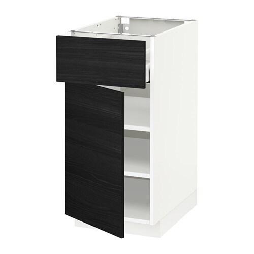 Metod maximera l ment bas avec tiroir porte blanc 40x60 cm tingsryd ef - Amortisseur porte ikea ...