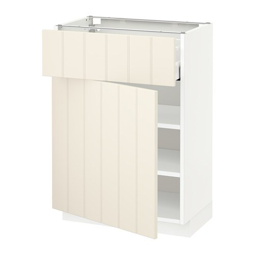 metod maximera l ment bas avec tiroir porte blanc hittarp blanc cass 60x37 cm ikea. Black Bedroom Furniture Sets. Home Design Ideas