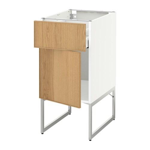 Metod maximera l ment bas avec tiroir porte blanc for Porte ikea 60 cm