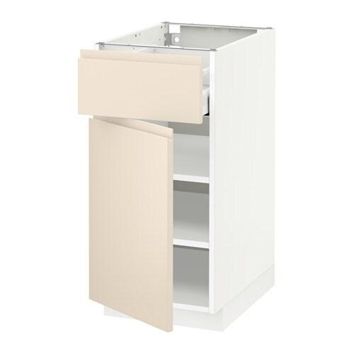 Metod maximera l ment bas avec tiroir porte blanc 40x60 cm voxtorp bei - Amortisseur porte ikea ...