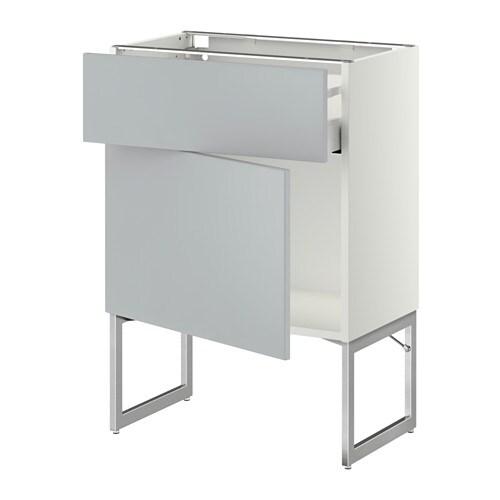 metod maximera l ment bas avec tiroir porte blanc veddinge blanc 60x37x60 cm ikea. Black Bedroom Furniture Sets. Home Design Ideas