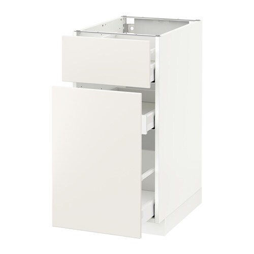 metod maximera l ment bas rangement coul tiroir blanc veddinge blanc 40x60 cm ikea. Black Bedroom Furniture Sets. Home Design Ideas