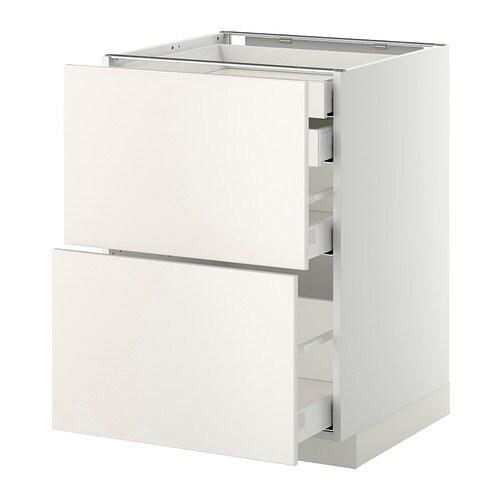 metod maximera lt bas 2faces 2tir bas 1moy 1haut blanc veddinge blanc 60x60 cm ikea. Black Bedroom Furniture Sets. Home Design Ideas
