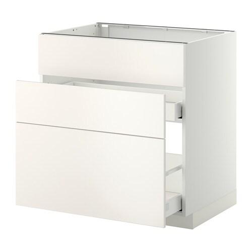 metod maximera lt bas pr vier 3faces 2tiroirs blanc veddinge blanc 80x60 cm ikea. Black Bedroom Furniture Sets. Home Design Ideas