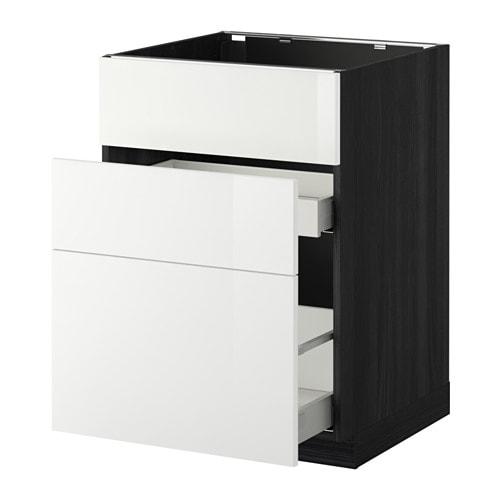 metod maximera lt bas pr vier 3faces 2tiroirs ikea. Black Bedroom Furniture Sets. Home Design Ideas