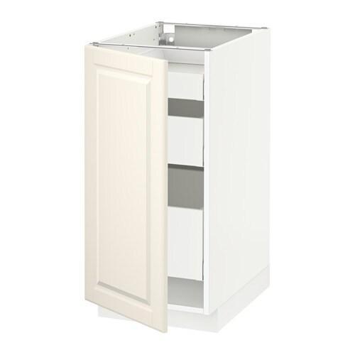 metod maximera lt bas 1 pte 3 tir blanc bodbyn blanc cass 40x60 cm ikea. Black Bedroom Furniture Sets. Home Design Ideas