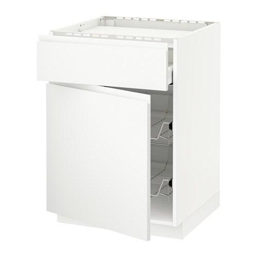 metod maximera lt bas tbl cuiss tiroir 2corb fil blanc voxtorp blanc mat ikea. Black Bedroom Furniture Sets. Home Design Ideas