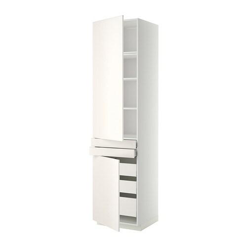 metod maximera lt haut tablettes 5tir 2pt 2faces blanc veddinge blanc 60x60x240 cm ikea. Black Bedroom Furniture Sets. Home Design Ideas
