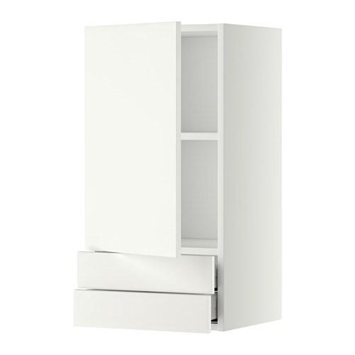 Metod maximera lt mural avec porte 2tiroirs blanc h ggeby blanc 40x80 - Porte photo mural ikea ...