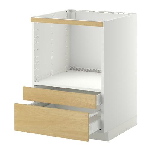 metod maximera meuble pour micro combi tiroirs blanc tingsryd motif bouleau ikea. Black Bedroom Furniture Sets. Home Design Ideas