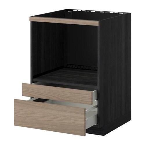 Metod Maximera Meuble Pour Micro Combi Tiroirs Ikea