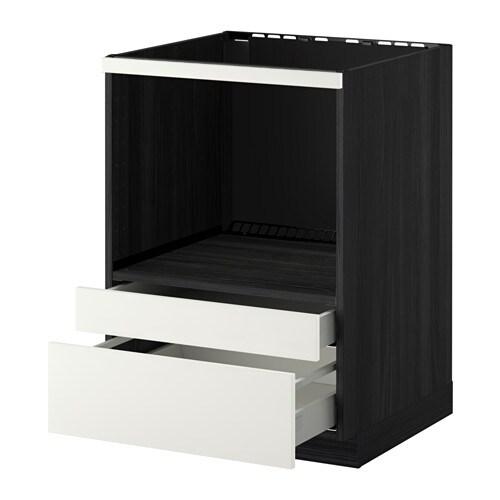 Metod / Maximera Meuble Pour Micro Combi/Tiroirs - Blanc, Märsta
