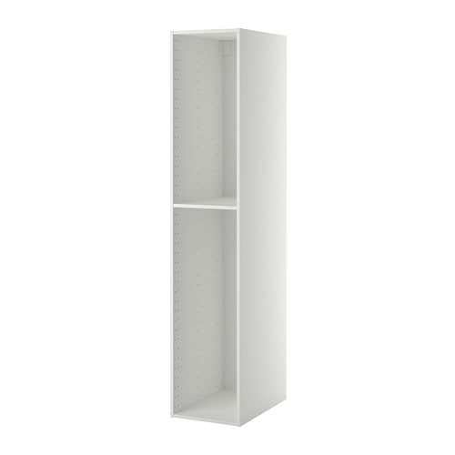 metod structure l ment armoire blanc 40x60x200 cm ikea. Black Bedroom Furniture Sets. Home Design Ideas