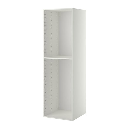 Metod structure l ment armoire blanc 60x60x200 cm ikea for Meuble 60x60