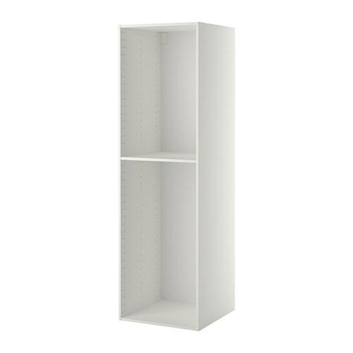 metod structure l ment armoire blanc 60x60x200 cm ikea. Black Bedroom Furniture Sets. Home Design Ideas