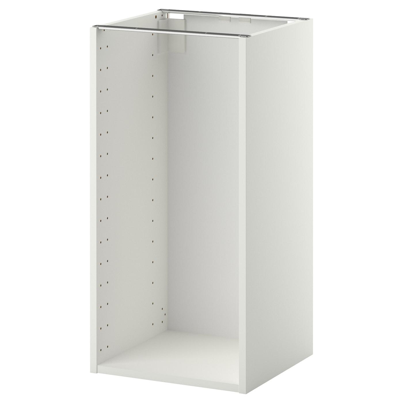 METOD Structure élément bas - blanc 15x15x15 cm