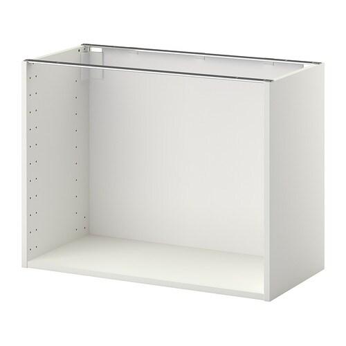 Metod structure l ment bas blanc 80x37x60 cm ikea - Element bas cuisine ikea ...