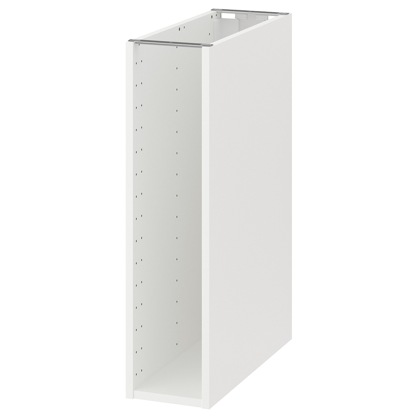 METOD Structure élément bas - blanc 10x10x10 cm