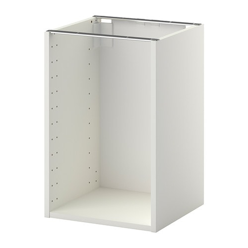 metod structure l ment bas blanc 40x37x60 cm ikea. Black Bedroom Furniture Sets. Home Design Ideas