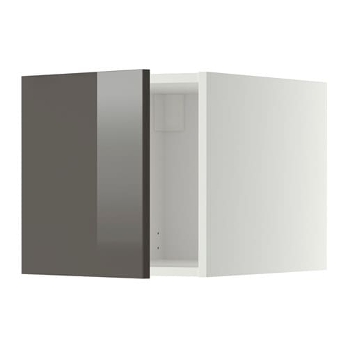 metod surmeuble blanc ringhult brillant gris ikea. Black Bedroom Furniture Sets. Home Design Ideas