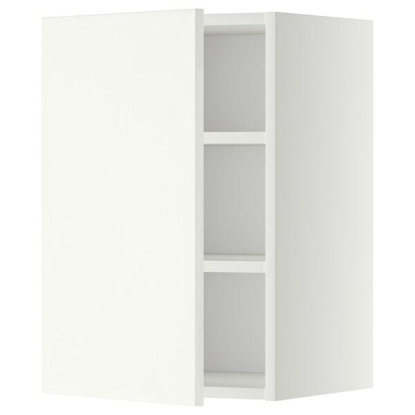METOD él mur+tabls blanc/Häggeby blanc 40.0 cm 38.6 cm 60.0 cm