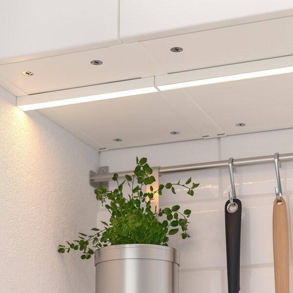 MITTLED Baguette lum LED plan travail cuis, intensité lumineuse réglable blanc, 40 cm