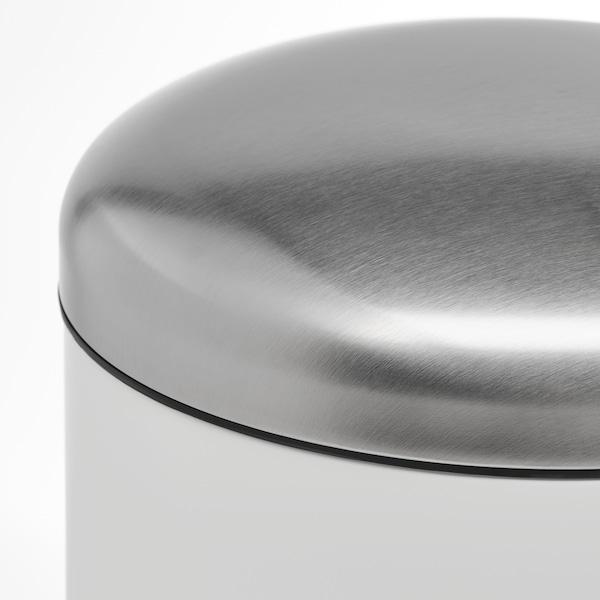 MJÖSA Poubelle à pédale, blanc, 30 l