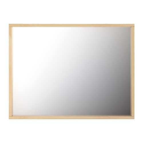 Molger miroir bouleau ikea for 4 miroirs vague ikea