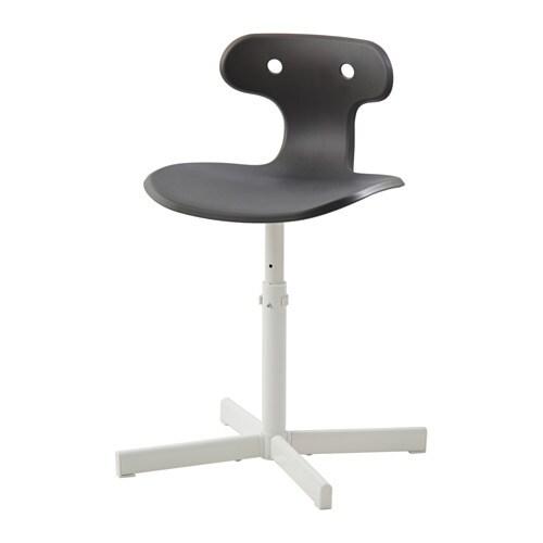 molte chaise de bureau - gris - ikea - Chaise De Bureau Grise
