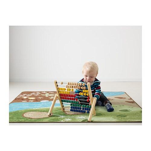 MULA Boulier IKEA Aide au développement de la motricité fine et du raisonnement logique.
