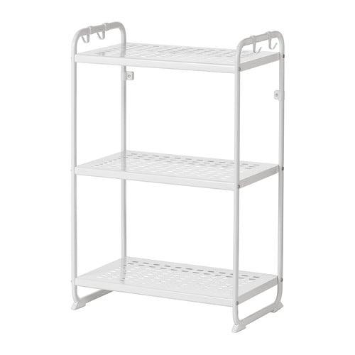 Mulig tag re blanc 58x34x90 cm ikea for Ikea etagere salle de bain