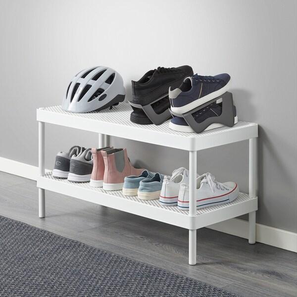 MURVEL rangement chaussures gris 14 cm 24 cm 14 cm 1 pièces