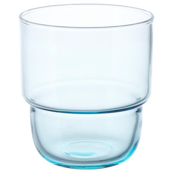 MUSTIG Verre, bleu clair, 23 cl