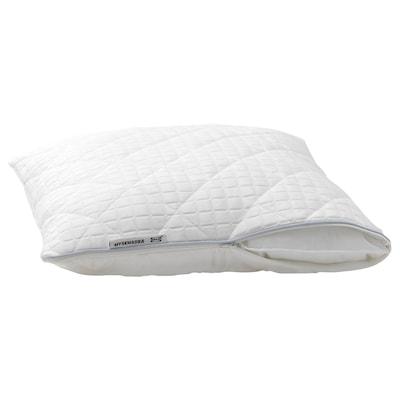 MYSKMADRA Protège-oreiller, blanc, 50x70 cm