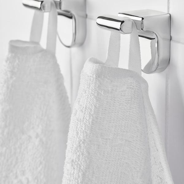 NÄRSEN Drap de bain, blanc, 55x120 cm