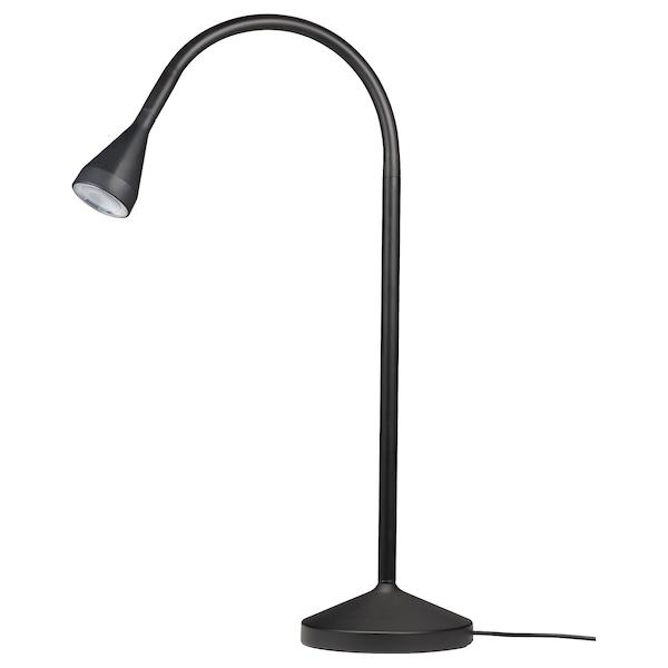 Navlinge Lampe De Bureau A Led Noir Ikea