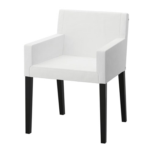 Nils structure chaise accoudoirs ikea - Chaises a accoudoirs ...